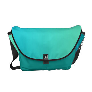 Turquoise Ombre Messenger Bags