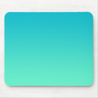 """Turquoise Ombre"" Mouse Pad"