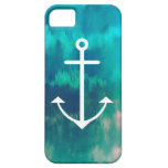 Turquoise Ombre Nautical iPhone 5 Covers