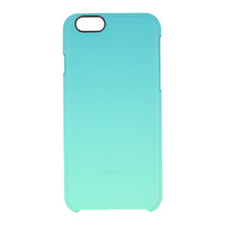 Turquoise Ombre Uncommon Clearly™ Deflector iPhone 6 Case