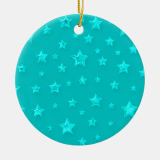 Turquoise On Turquoise Ornament