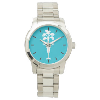 Turquoise Oversized Celery Charles Watch