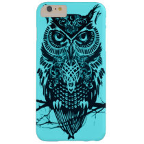 Turquoise Owl Barely There iPhone 6 Plus Case