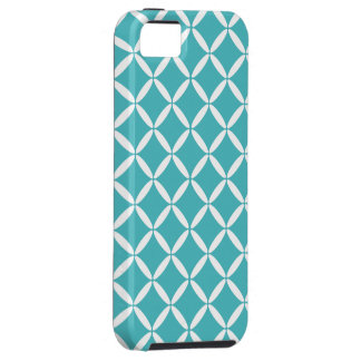Turquoise Pattern iPhone 5 Case-Mate