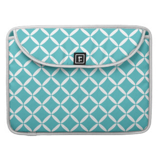 Turquoise Pattern  MacBook Sleeve