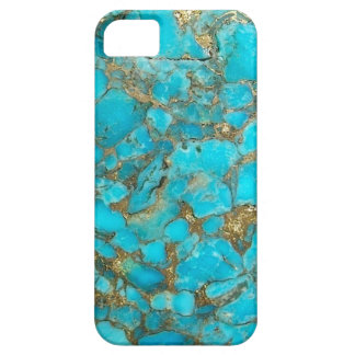 Turquoise Pattern Phone Cover iPhone 5 Case