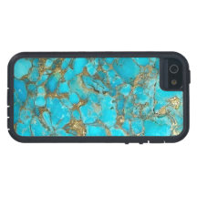 Turquoise Pattern Phone Cover iPhone 5 Covers