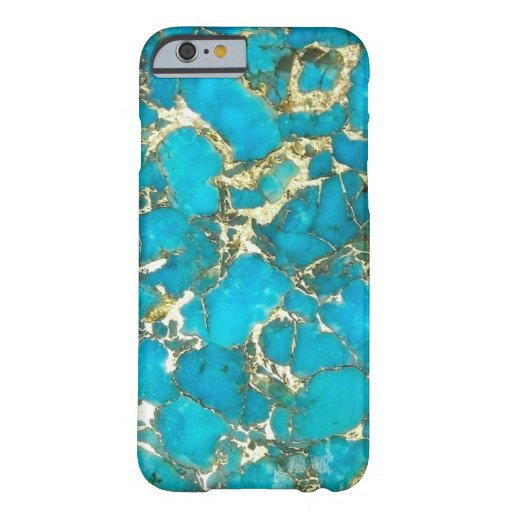 """""""Turquoise Phone Case"""" Barely There Iphone 6 Case"""