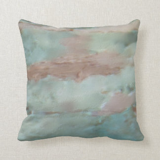 Turquoise Pillow - Sensitive Resignation