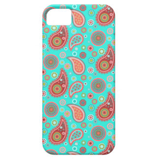 Turquoise Playful iPhone SE/5/5s Case