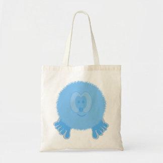 Turquoise Pom Pom Pal Bag