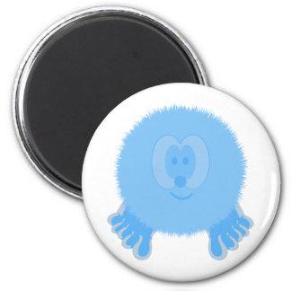Turquoise Pom Pom Pal Magent Magnet