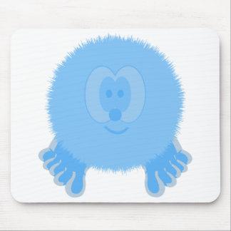 Turquoise Pom Pom Pal Mousepad