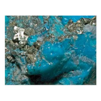 Turquoise Postcard