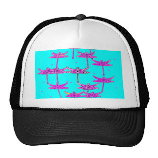 Turquoise-Purple Dragonfly Gifts by Sharles Hats