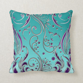 Turquoise Pillows Decorative Throw Pillows Zazzle