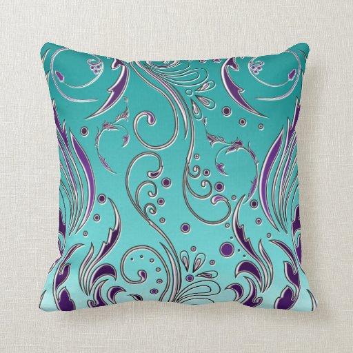 Throw Pillows With Purple : Purple Bedroom Ideas - Purple Throw Pillows
