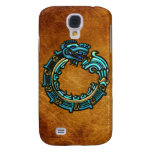 Turquoise Quetzalcoatl Samsung Galaxy S4 Cover