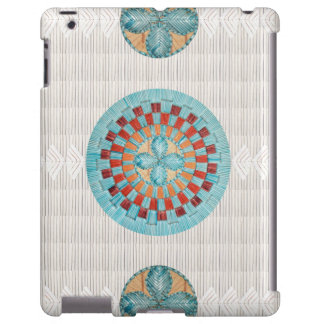 Turquoise Quill Inspired IPad Case