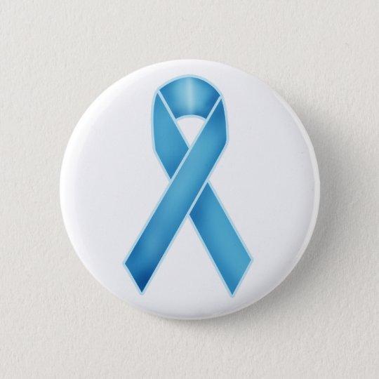 Turquoise Ribbon Pinback Button