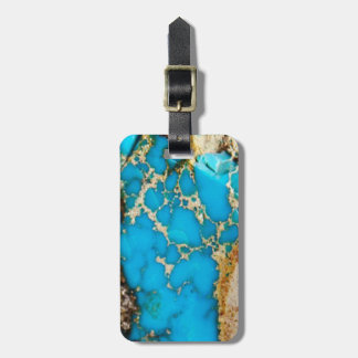 Turquoise Rock 1 Bag Tag