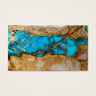 Turquoise Rock 1 Business Card