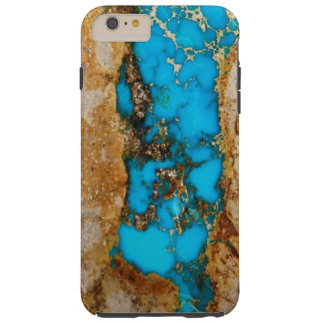 Turquoise Rock 1 Tough iPhone 6 Plus Case