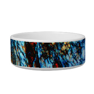 Turquoise Rock Cat Water Bowls