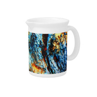 Turquoise Rock Beverage Pitchers