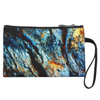Turquoise Rock Wristlet Wallet