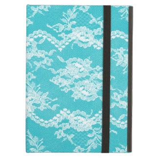Turquoise Romantic Lace iPad Folio Cases