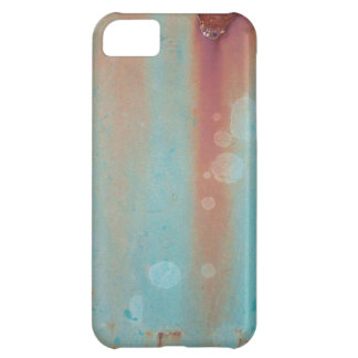 Turquoise Rusted Metal Case For iPhone 5C