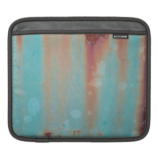 Turquoise Rusted Metal Sleeves For iPads