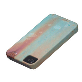 Turquoise Rusted Metal iPhone 4 Covers