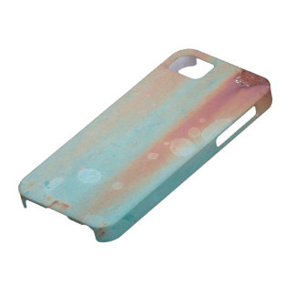 Turquoise Rusted Metal iPhone SE/5/5s Case