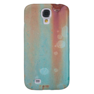Turquoise Rusted Metal Samsung Galaxy S4 Case