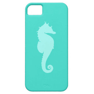 Turquoise Sea Horse 2 iPhone 5 Cases