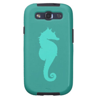 Turquoise Sea Horse Galaxy S3 Covers