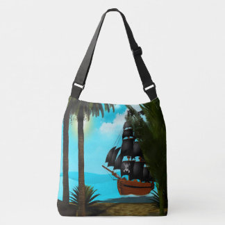 Turquoise Seas Crossbody Bag