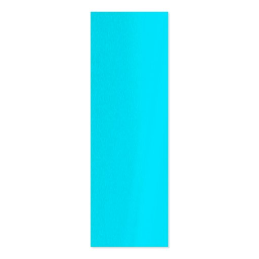 Turquoise Sky Blue Color Customize This! Business Card