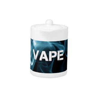 Turquoise Smoke Vape On Teapot
