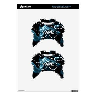 Turquoise Smoke Vape On Xbox 360 Controller Skin