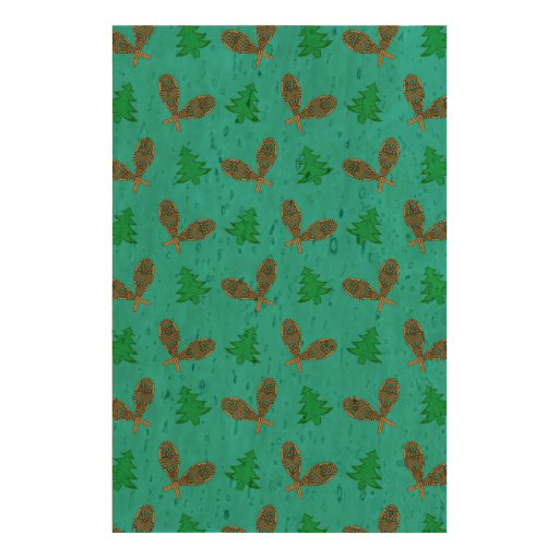 turquoise snowshoe pattern queork photo print