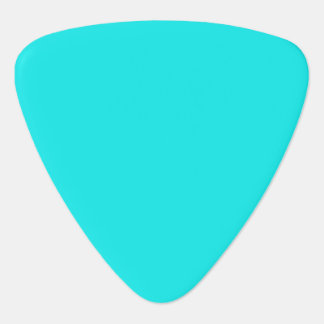 Turquoise Solid Color Guitar Pick