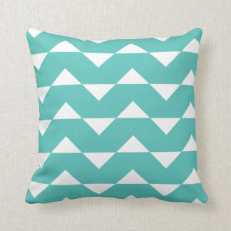 Turquoise Sparre Pattern Accent Pillow
