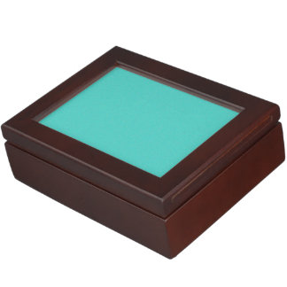 Turquoise Star Dust Memory Box