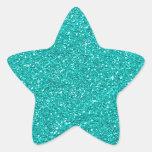 Turquoise Sticker
