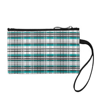 Turquoise Stitching - Coin Purse