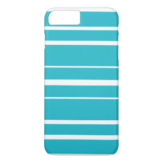 Turquoise Striped Summer CricketDiane Nautical iPhone 7 Plus Case