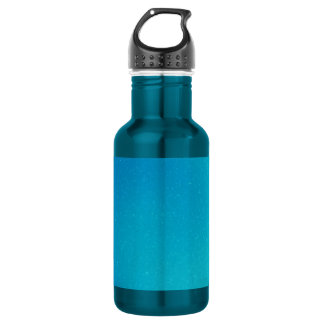 Turquoise Swirl Water Bottle
